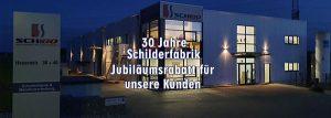 Jubiläum Schilderfabrik SchiBo GmbH